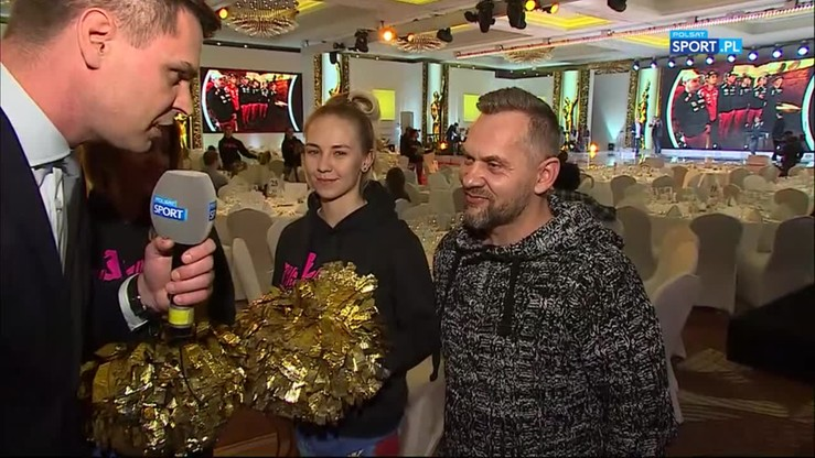 Gala Mistrzów Sportu: Reporter Polsatu Sport został... cheerleaderką