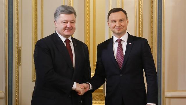 Duda na Ukrainie: Sankcje wobec Rosji powinny zostać przedłużone