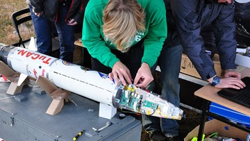 02-11-2016 15:49 TuCan i Amelia 2 - eksperymentalne rakiety polskich studentów pomyślnie przeszły testy