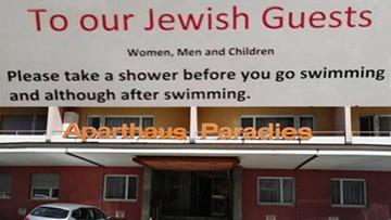 """16-08-2017 11:02 """"Żydowscy goście proszeni są o wzięcie prysznica."""" Szwajcarski hotel przeprasza"""