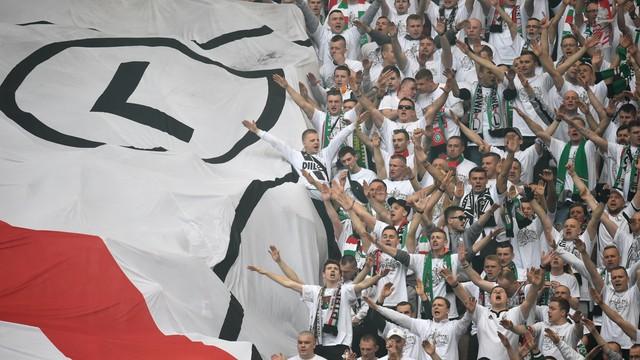 Piłkarska LM - bez zorganizowanych grup kibiców Legii na wyjazdach