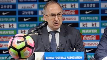 2017-06-14 El. MŚ 2018. Niepewny los trenerów Korei Południowej i Kataru