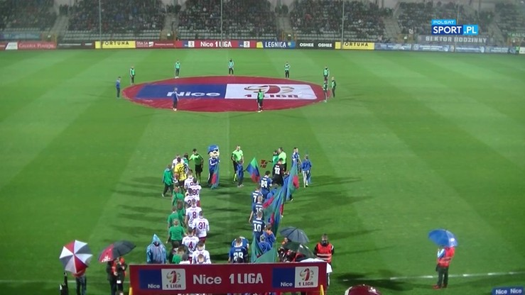 Miedź Legnica - Podbeskidzie Bielsko-Biała 0:2. Skrót meczu