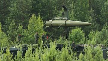 """15-04-2016 16:18 Rosjanie testowali rakietę Iskander- M. """"Skutecznie zaatakowała cel"""""""
