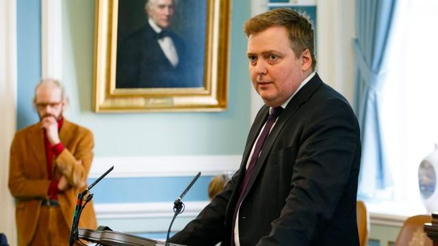 Związany z aferą Panama Papers, premier Islandii zwrócił się do prezydenta o rozwiązanie parlamentu