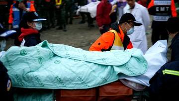 12-02-2016 07:52 Wzrosła liczba ofiar trzęsienia ziemi na Tajwanie. Zginęły 92 osoby