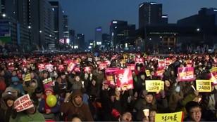 Kolejne protesty w Korei Południowej. Tłumy na ulicach Seulu