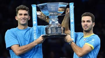 2015-11-22 ATP World Tour Finals: zwycięstwo Rojera i Tecau w deblu