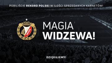 2017-07-28 Widzew poprawił rekord sprzedaży karnetów