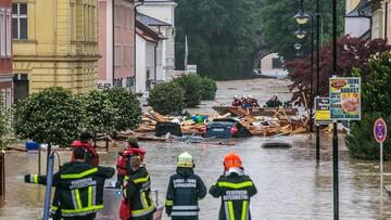 01-06-2016 23:03 Powódź w Bawarii. Władze ogłosiły stan klęski żywiołowej. 3 osoby nie żyją
