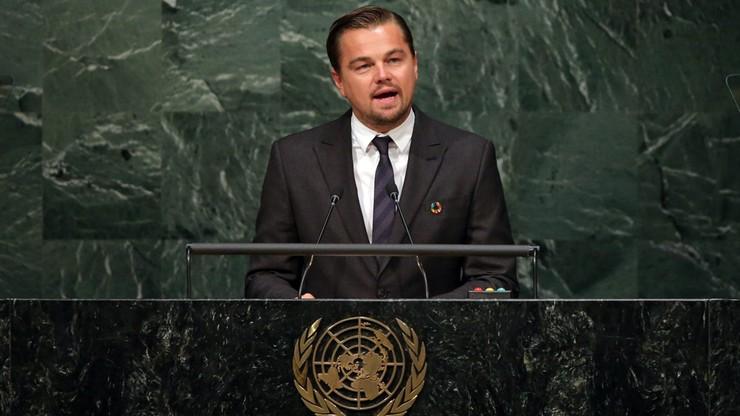 DiCaprio: jesteście ostatnią nadzieją dla Ziemi. Emocjonalne przemówienie aktora do światowych przywódców