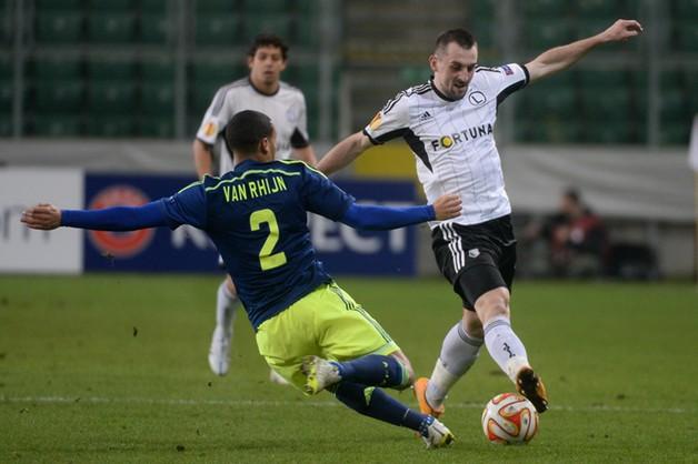 Legia poległa - 0:3 z Ajaxem
