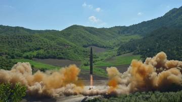 28-07-2017 20:41 Pentagon: rakieta wystrzelona przez Koreę Płn. to międzykontynentalny pocisk balistyczny