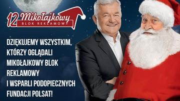 07-12-2015 15:19 7,2 miliona widzów obejrzało reklamy, 1,5 mln zł dla dzieci