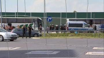 05-08-2017 15:02 Autostrada A1 w kierunku Gdańska przejezdna po bójce pseudokibiców