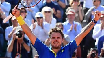 2017-06-09 French Open: Wawrinka pokonał Murraya w półfinale