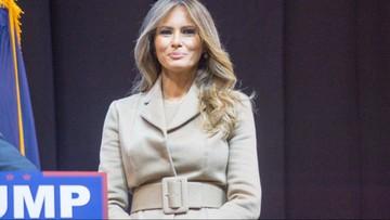 """03-11-2016 22:52 """"Mój mąż będzie fantastycznym prezydentem"""". Melania Trump wsparła Donalda w walce o prezydenturę"""