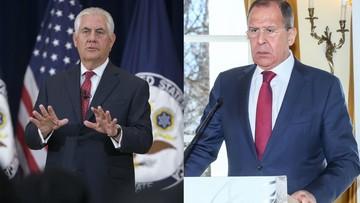 06-05-2017 06:46 Tillerson rozmawiał z Ławrowem o Syrii