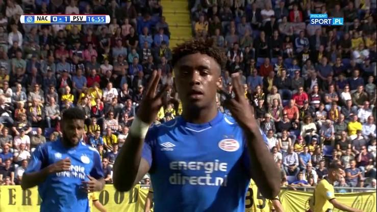 2017-08-20 NAC Breda - PSV Eindhoven 1:4. Skrót meczu