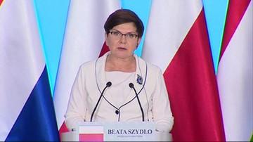 Premier Szydło o przyszłości Europy