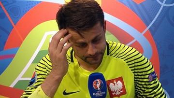 """01-07-2016 05:15 Łzy Fabiańskiego. """"Nie pomogłem drużynie"""""""