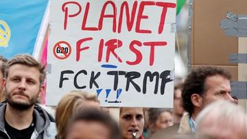 """02-07-2017 16:51 """"Idźcie do diabła"""". Tysiące antyglobalistów protestowało przeciwko szczytowi G20"""