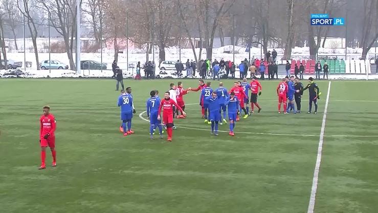 Zagłębie Sosnowiec - Polonia Bytom 0:1. Gol Trąbki