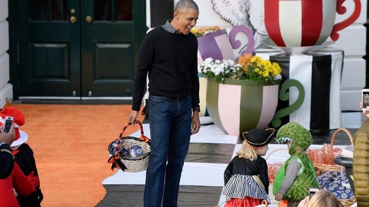 """""""Purple rain"""" w wykonaniu Obamy? Tylko w Halloween"""