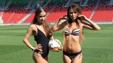 2017-08-21 Stadion GKS-u Tychy zamienił się w dom mody Victoria's Secret (ZDJĘCIA)