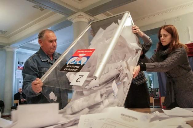 Rosja: UE powinna uznać wybory w Donbasie - to rozwiąże kryzys