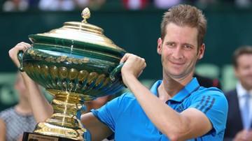 2016-06-19 ATP Halle: Mayer lepszy w niemieckim finale