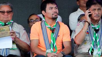 2015-10-26 Pacquiao kończy z boksem i zaczyna karierę polityczną