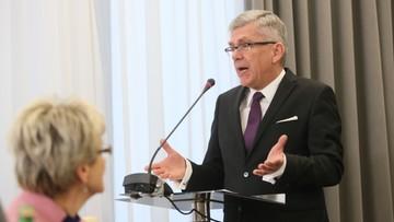 14-11-2016 14:52 Marszałek Senatu: decyzja o ekshumacjach nie jest polityczna