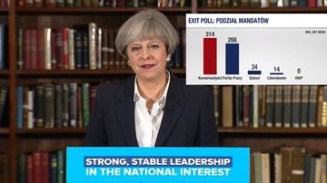 09-06-2017 05:20 Exit poll: Konserwatyści wygrali wybory w Wielkiej Brytanii, ale nie mają samodzielnej większości