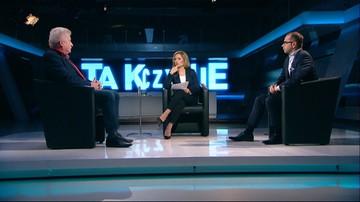 """01-11-2017 22:43 """"W Warszawie nie rządziły krasnoludki, tylko Gronkiewicz-Waltz"""". Temat reprywatyzacji w """"Tak czy Nie"""""""
