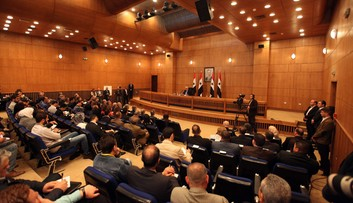 12-03-2016 16:57 Syryjski rząd: w Genewie nie będzie rozmów o odejściu Asada