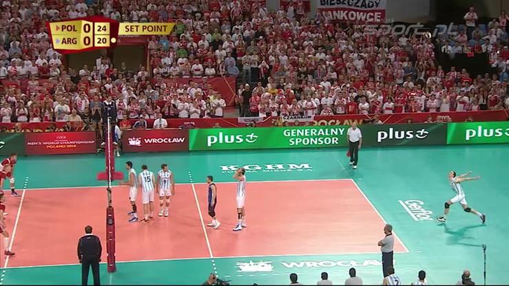 Polska - Argentyna 3:0. Skrót meczu