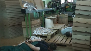 Nielegalna fabryka papierosów zlikwidowana. Produkcja na ogromną skalę