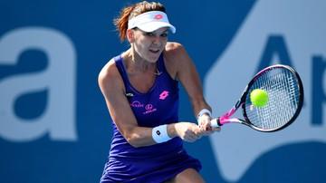 2017-01-13 Turniej WTA w Sydney: Pogrom w drugim secie, Radwańska przegrywa w finale