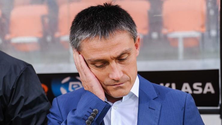 Rumak nie jest już trenerem Bruk-Betu Termaliki Nieciecza