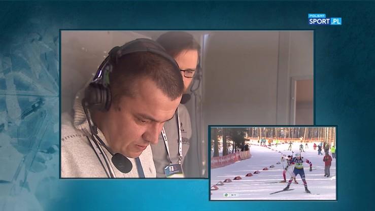 Radość komentatorów Polsatu Sport po zdobyciu brązowego medalu przez Guzików
