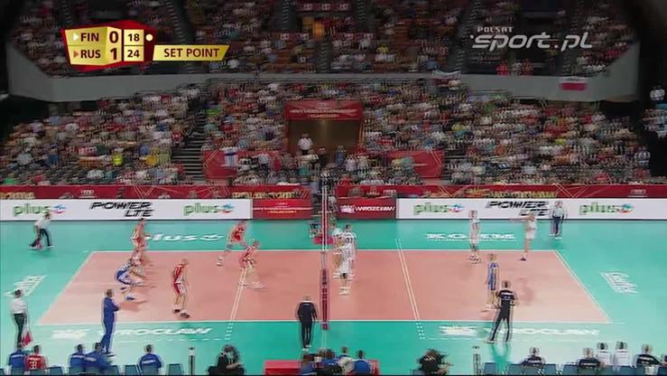 Finlandia - Rosja 0:3. Skrót meczu