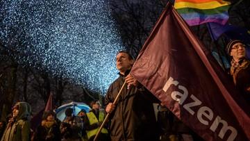 17-03-2016 17:48 Koniec pikiety Partii Razem ws. orzeczenia TK. Kolejne działania odbędą się na drodze prawnej