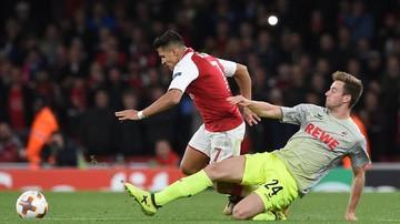2017-09-15 LE: Arsenal lepszy od Koeln. Anglicy walczyli na boisku i na trybunach