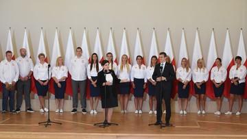 29-08-2016 14:16 Szydło do polskich medalistów: przynosicie nam dumę i radość