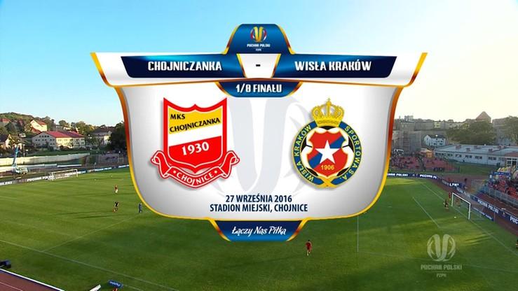 Puchar Polski: Chojniczanka - Wisła 1:2. Skrót meczu
