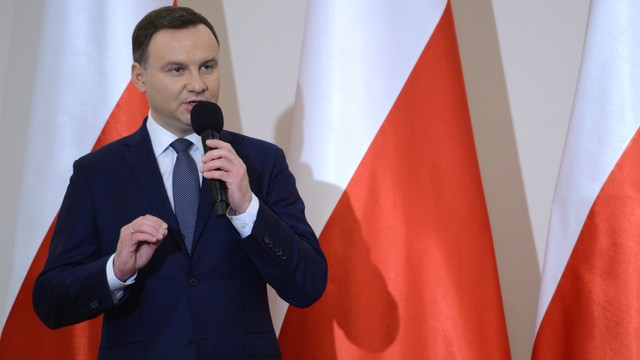 CBOS: Prezydent Andrzej Duda na czele rankingu zaufania