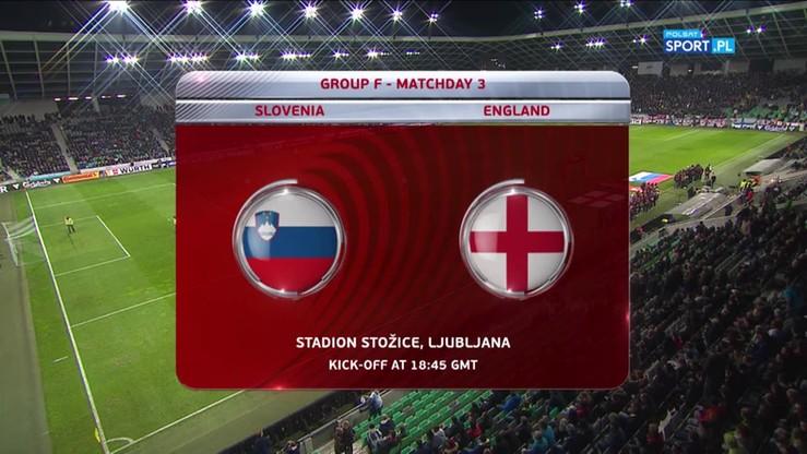 2016-10-12 Słowenia - Anglia 0:0. Skrót meczu