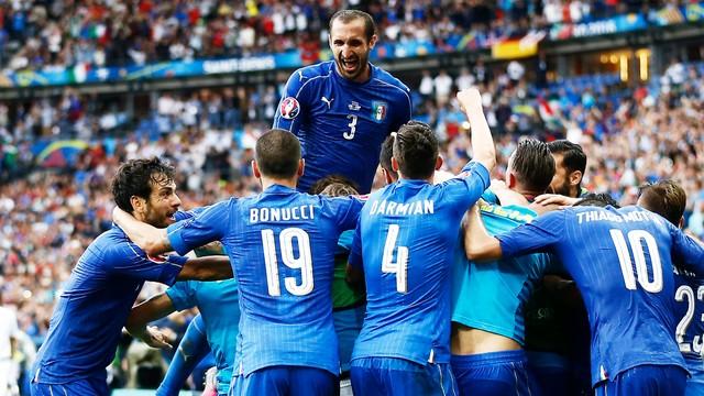 ME 2016 - Włochy - Hiszpania 2:0