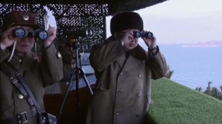 Test rakietowy Pjongjangu miał symulować atak na Koreę Południową